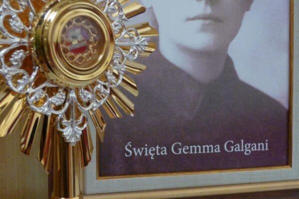 św. Gemma – wprowadzenie relikwii